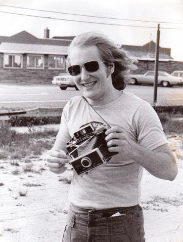 1976 -Taking photos of Le Garage in Long Beach Island, NJ - where I was looking to promote Concerts - didn't happen there. Courtesy of Jeff Harris - a wonderful friend at the time.
