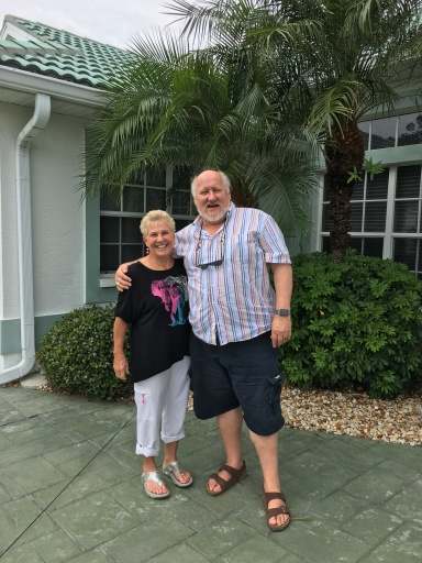 Sandy and me at her place in Florida