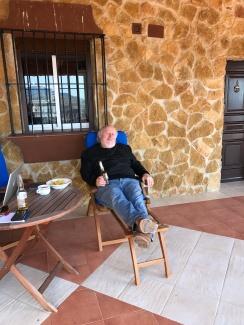 Chillin in Spain