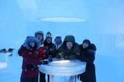 Vodka in the Ice Bar
